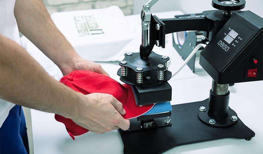 ZX-Heat-Transfer-Application-Printing-Process-Baseball-Cap