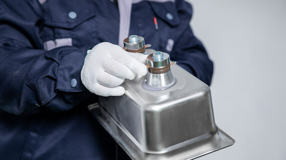 ZX-Ultrasonic-Cleaner-Transducer-Making