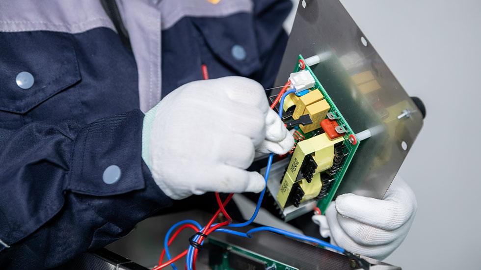 ZX-Ultrasonic-Cleaner-Motherboard-Making
